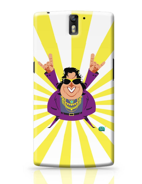 Bappi Lahiri Rocking Disco Pop Art Illustration OnePlus One Covers Cases Online India