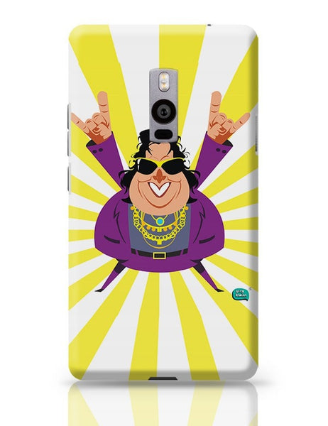 Bappi Lahiri Rocking Disco Pop Art Illustration OnePlus Two Covers Cases Online India