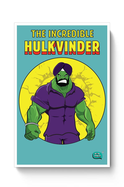 Being Indian Incredible Hulkvinder Poster Online India