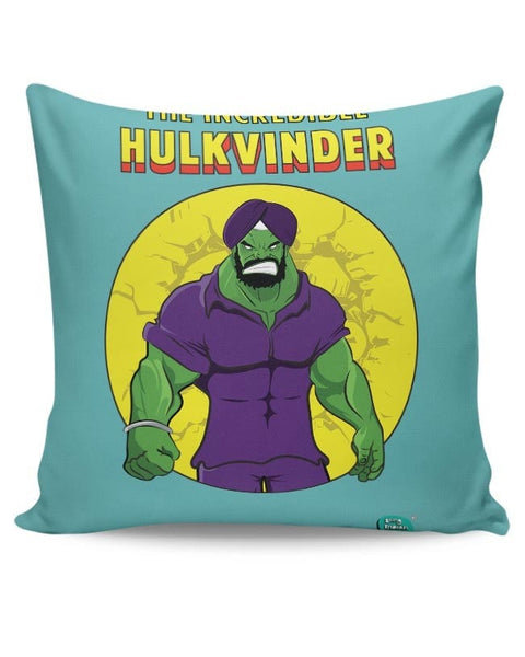 Being Indian Incredible Hulkvinder Cushion Cover Online India