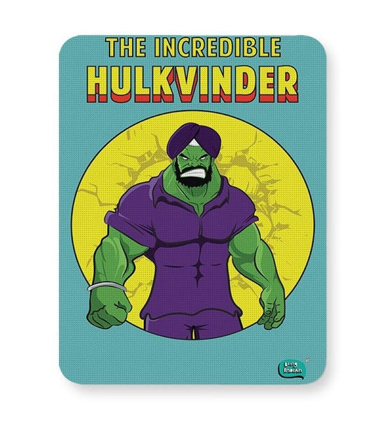 Being Indian Incredible Hulkvinder Mousepad Online India