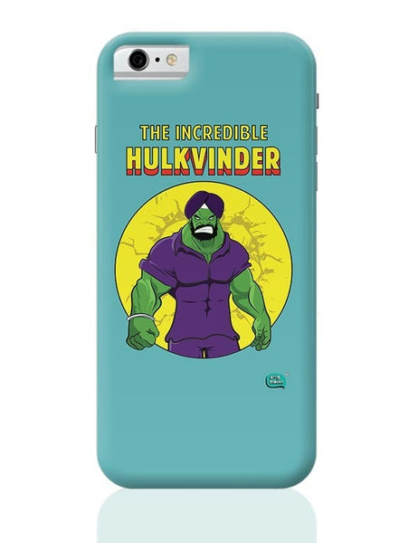 Being Indian Incredible Hulkvinder iPhone 6 6S Covers Cases Online India