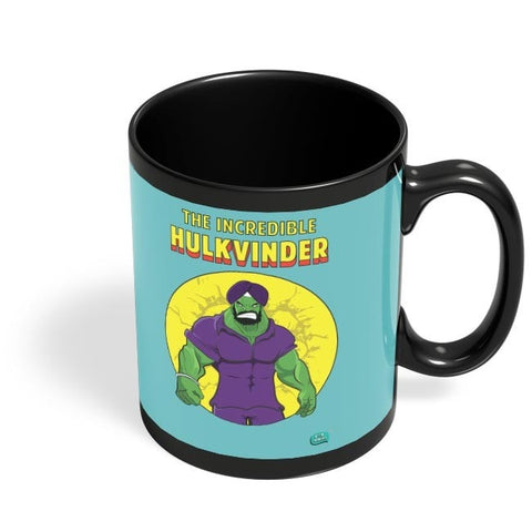 Being Indian Incredible Hulkvinder Black Coffee Mug Online India