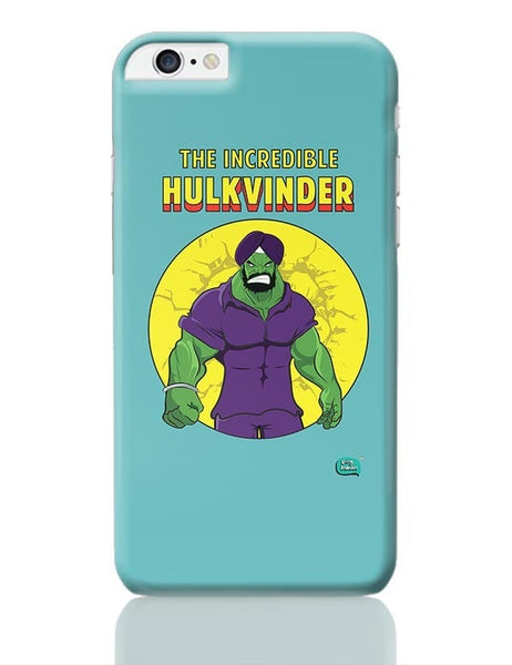 Being Indian Incredible Hulkvinder iPhone 6 Plus / 6S Plus Covers Cases Online India