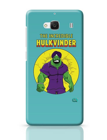 Being Indian Incredible Hulkvinder Redmi 2 / Redmi 2 Prime Covers Cases Online India