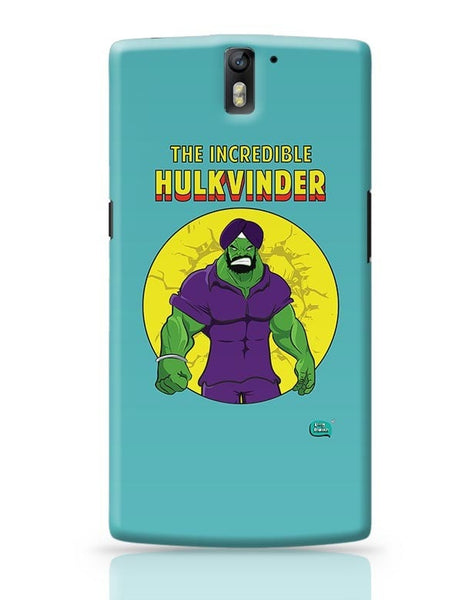 Being Indian Incredible Hulkvinder OnePlus One Covers Cases Online India