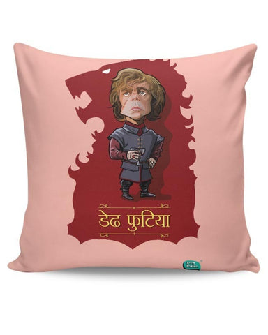Being Indian Dedh Futiya(Tyrion) Cushion Cover Online India