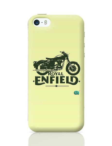 Being Indian Royal Enfield Standard Graphic Illustration iPhone 5/5S Covers Cases Online India