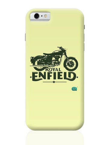 Being Indian Royal Enfield Standard Graphic Illustration iPhone 6 / 6S Covers Cases