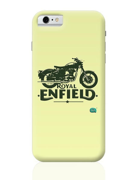 Being Indian Royal Enfield Standard Graphic Illustration iPhone 6 6S Covers Cases Online India