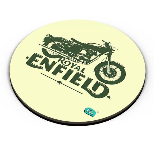 Being Indian Royal Enfield Standard Graphic Illustration Fridge Magnet Online India
