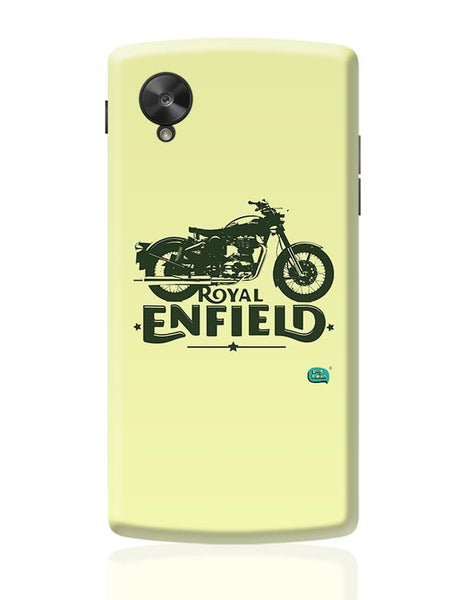 Being Indian Royal Enfield Standard Graphic Illustration Google Nexus 5 Covers Cases Online India