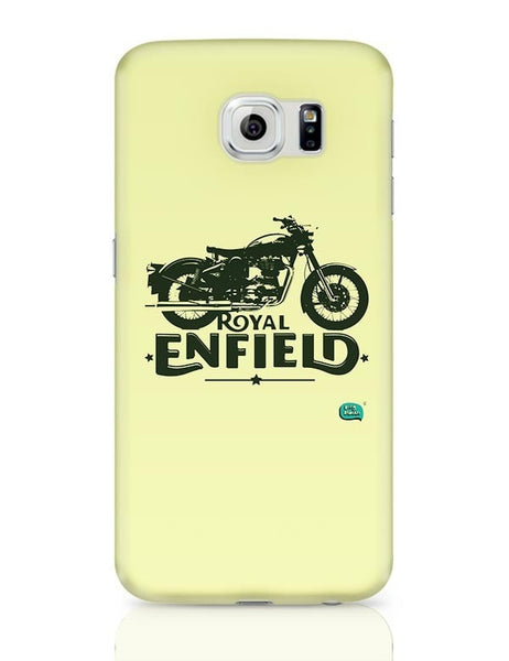 Being Indian Royal Enfield Standard Graphic Illustration Samsung Galaxy S6 Covers Cases Online India