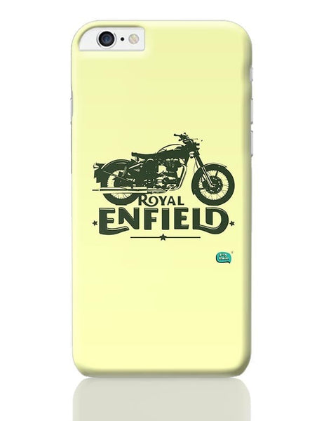 Being Indian Royal Enfield Standard Graphic Illustration iPhone 6 Plus / 6S Plus Covers Cases Online India