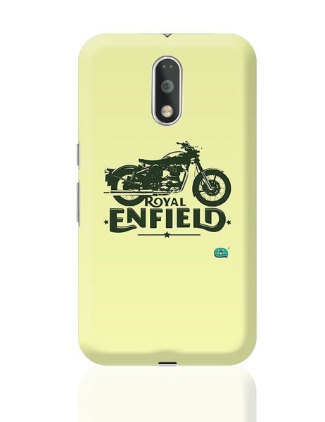 Being Indian Royal Enfield Standard Graphic Illustration Moto G4 Plus Online India