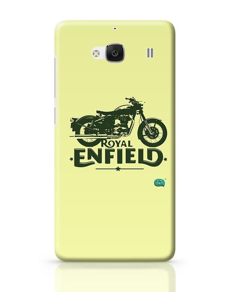 Being Indian Royal Enfield Standard Graphic Illustration Redmi 2 / Redmi 2 Prime Covers Cases Online India