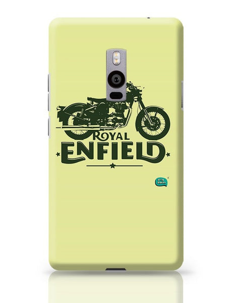 Being Indian Royal Enfield Standard Graphic Illustration OnePlus Two Covers Cases Online India