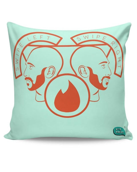 Being Indian Swipe Left Swipe Right Cushion Cover Online India