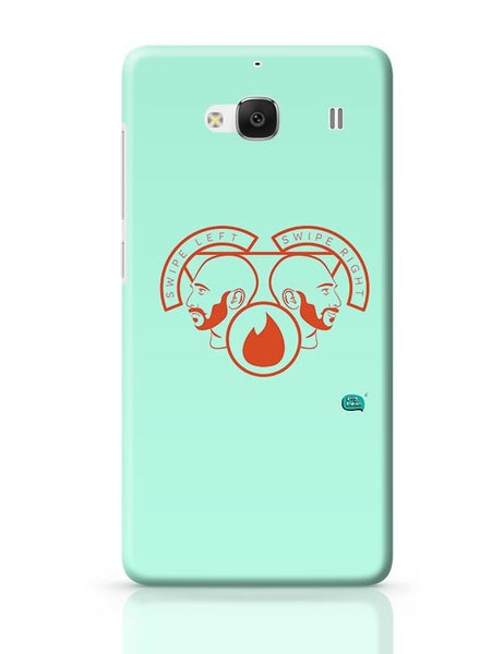 Being Indian Swipe Left Swipe Right Redmi 2 / Redmi 2 Prime Covers Cases Online India