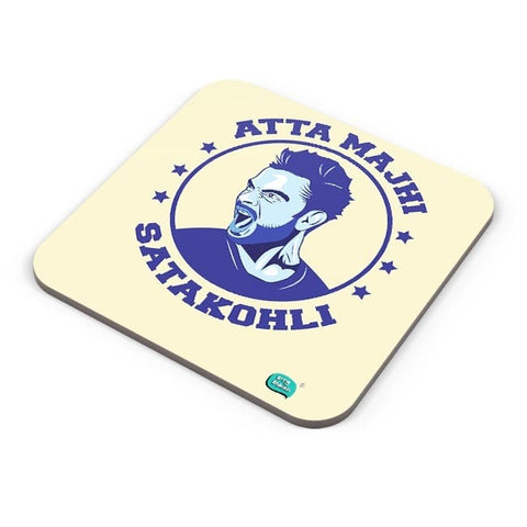 Being Indian Atta Majhi Satakohli(Virat Kohli ) Coaster Online India