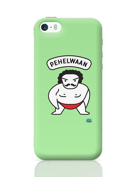 Pehelwaan Minimal Illustration iPhone 5/5S Covers Cases Online India