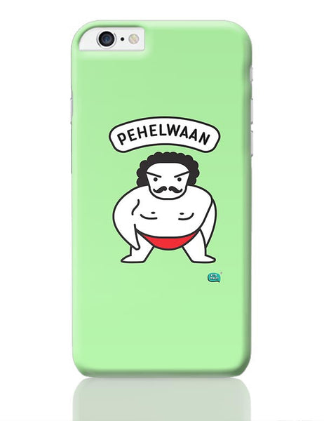 Pehelwaan Minimal Illustration iPhone 6 Plus / 6S Plus Covers Cases Online India
