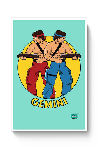 Gemini | Contra Inspired Poster Online India