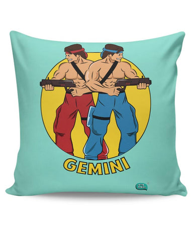 Gemini | Contra Inspired Cushion Cover Online India