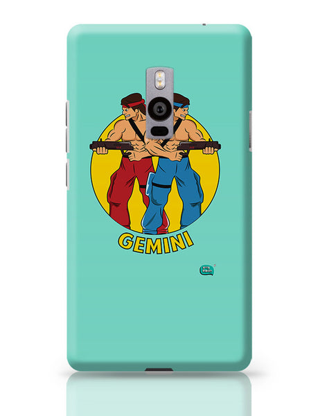 Gemini | Contra Inspired OnePlus Two Covers Cases Online India