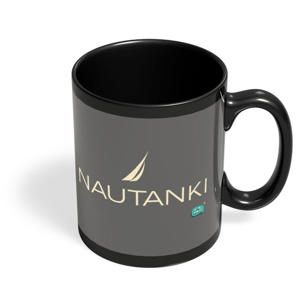 Nautanki Nautica Paordy Black Coffee Mug Online India