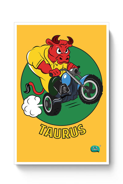 Taurus The Angry Bull Poster Online India
