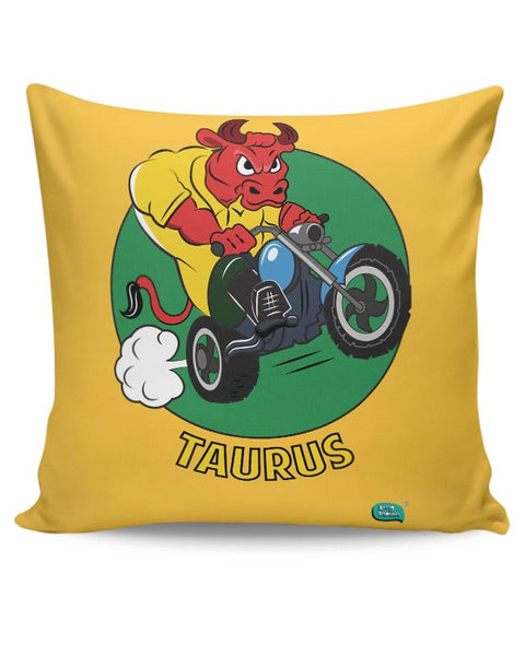 Taurus The Angry Bull Cushion Cover Online India