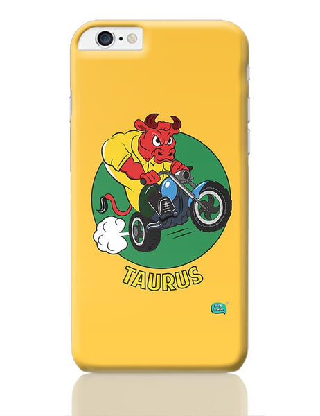Taurus The Angry Bull iPhone 6 Plus / 6S Plus Covers Cases Online India