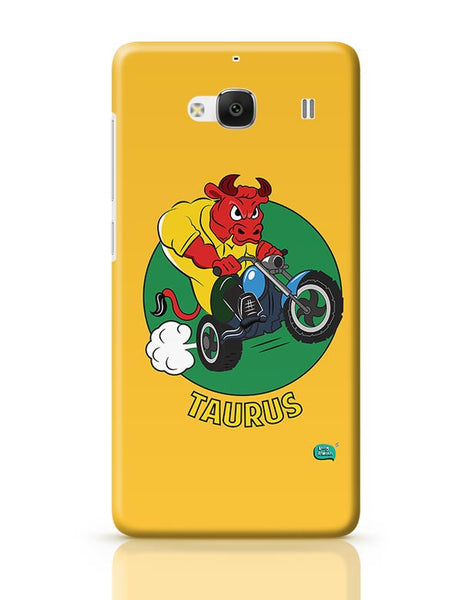 Taurus The Angry Bull Redmi 2 / Redmi 2 Prime Covers Cases Online India