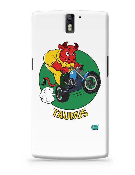 Taurus The Angry Bull OnePlus One Covers Cases Online India