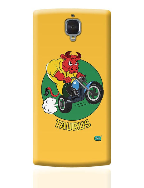 Taurus The Angry Bull OnePlus 3 Covers Cases Online India