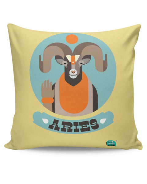 The Peace Guru Aries Cushion Cover Online India