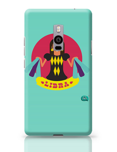 Libra Zodiac Illustration OnePlus Two Covers Cases Online India