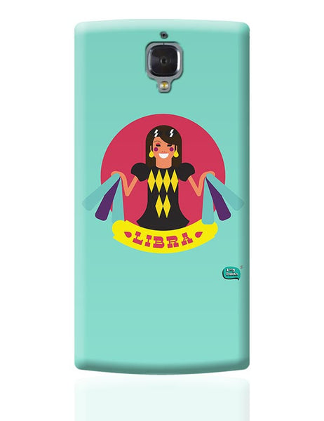 Libra Zodiac Illustration OnePlus 3 Covers Cases Online India