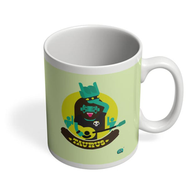 The Happy Taurus Zodiac Coffee Mug Online India