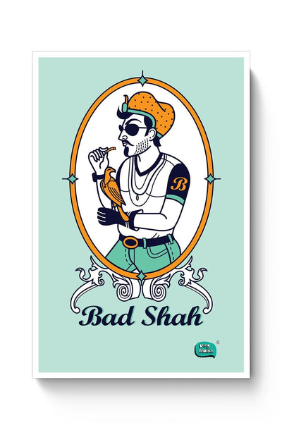 Bad Shah Illustration Poster Online India