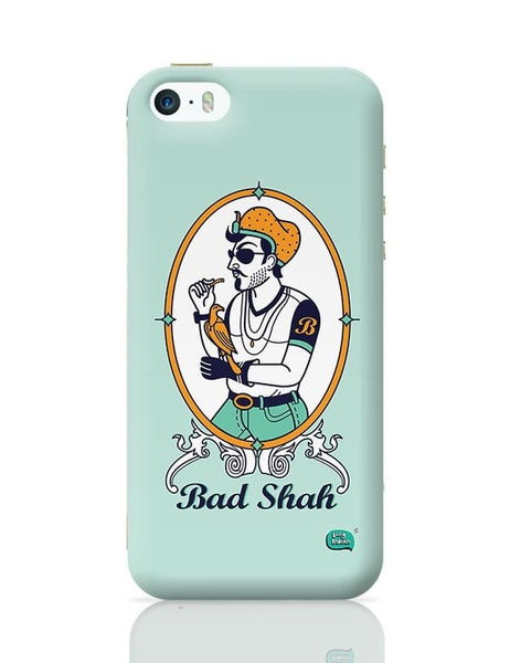 Bad Shah Illustration iPhone 5/5S Covers Cases Online India