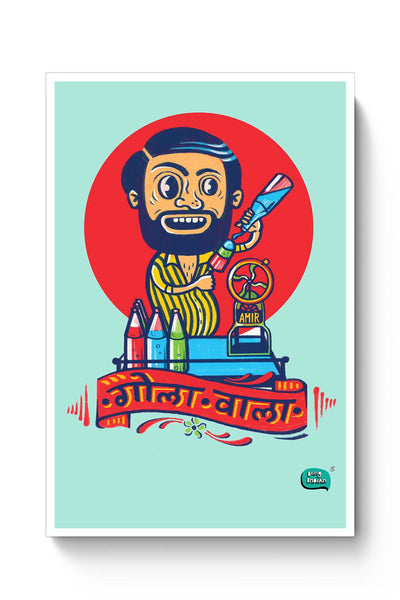 Gola Wala Illustration Poster Online India