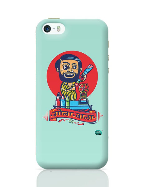 Gola Wala Illustration iPhone 5/5S Covers Cases Online India