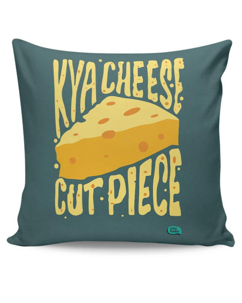 Kya Cheese Cut Piece Cushion Cover Online India