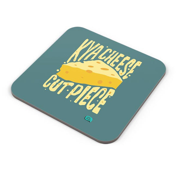 Kya Cheese Cut Piece Coaster Online India