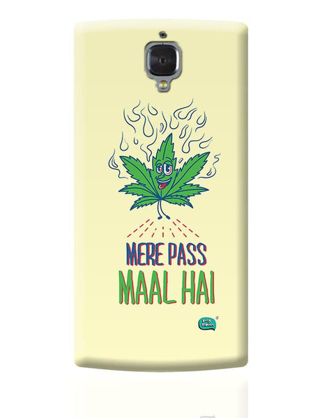 Maal Mere Paas Hai OnePlus 3 Covers Cases Online India