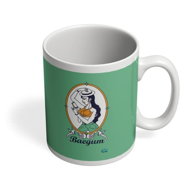 Baegum Illustration Coffee Mug Online India