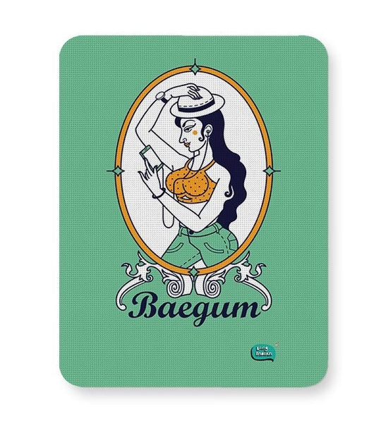 Baegum Illustration Mousepad Online India