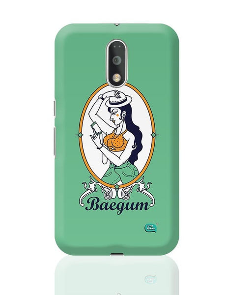 Baegum Illustration Moto G4 Plus Online India